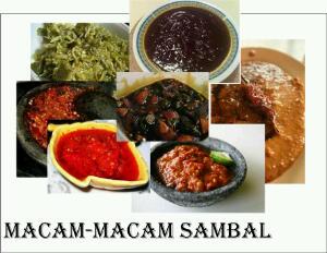 jenis sambal